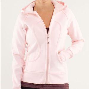 Lululemon Light Pink Scuba Hoodie Size 6